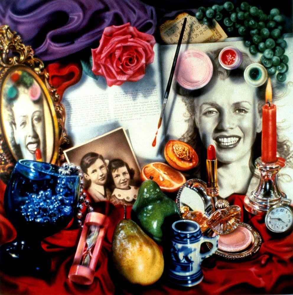 Audrey Flack Marilyn Vanitas 1977 Essay Scholarships img-1