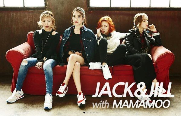 Mamamoo // Moonbyul, Wheein, Solar, Hwasa