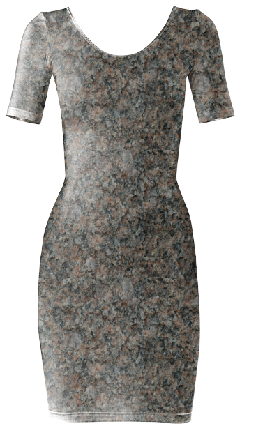 PINK AND GRAY MICA BODYCON DRESS by Khoncepts