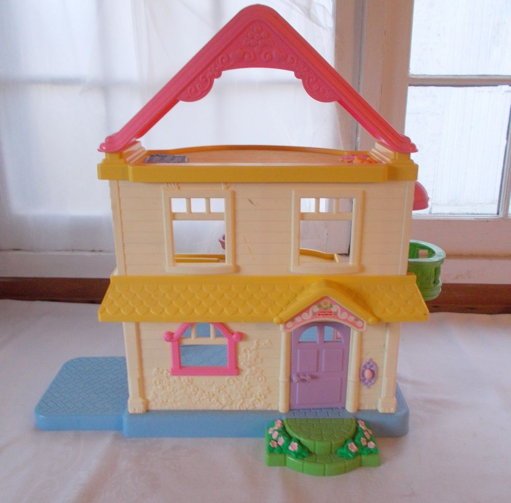 Fisher Price Doll House Little People #FisherPrice