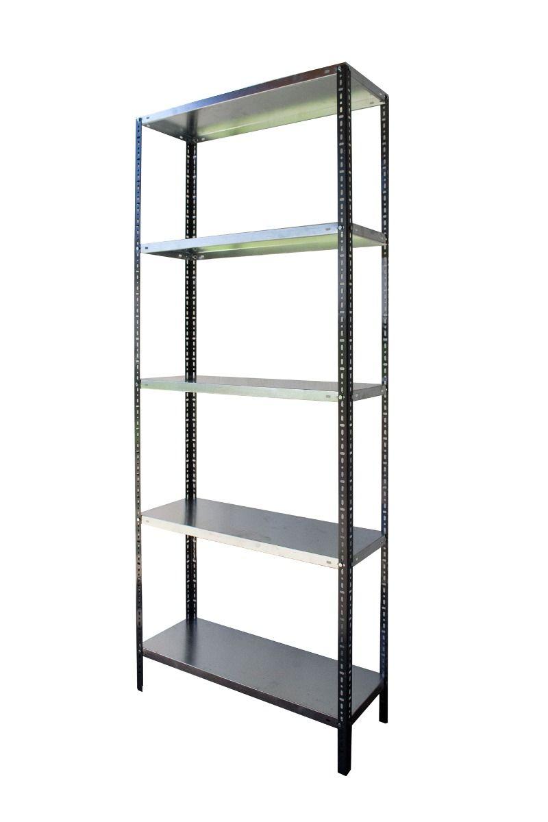 Estanterias metalicas galvanizadas 2mts de alto 5 - Estanterias metalicas para casa ...
