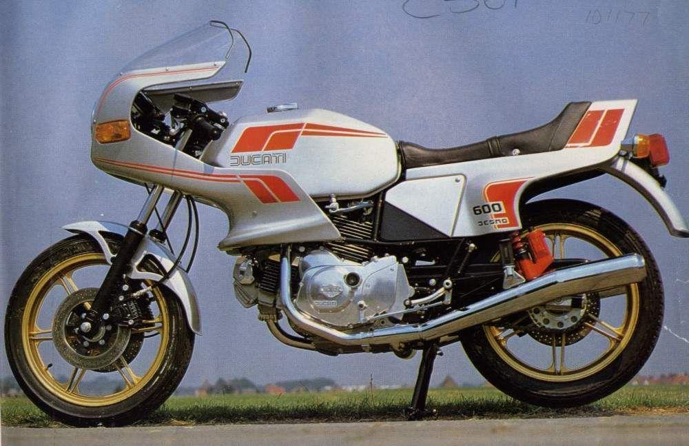 600SL Pantah, 1981