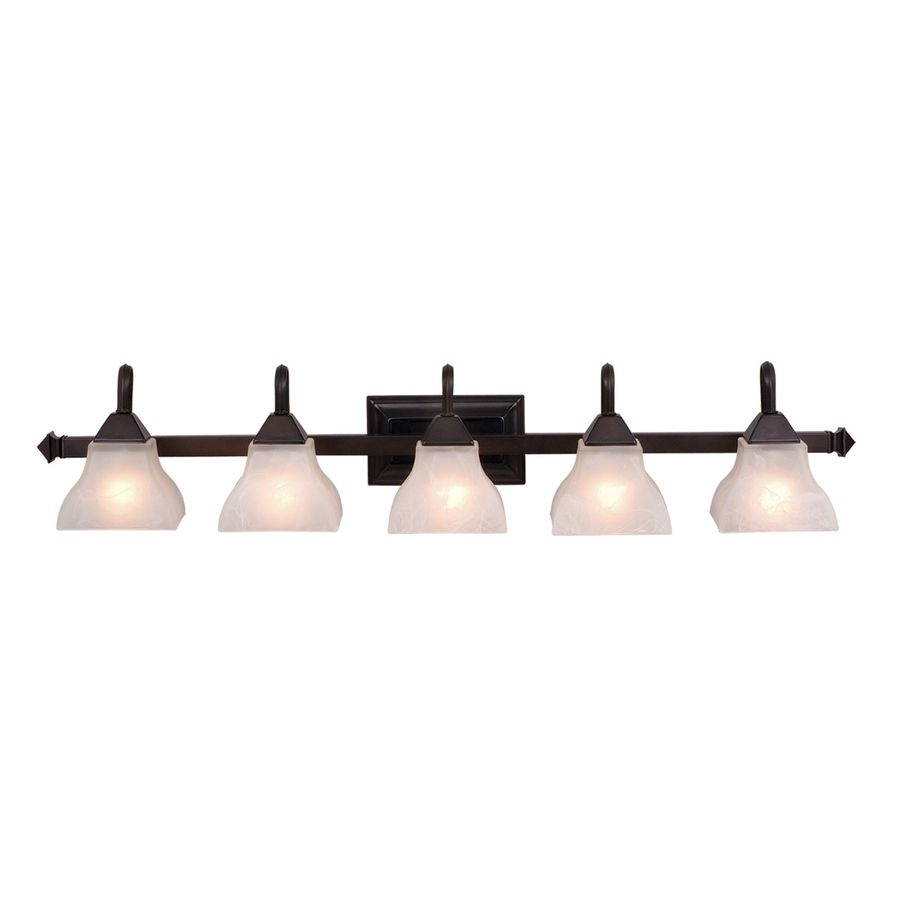 Cascadia lighting 5 light oiled burnished bronze bathroom vanity cascadia lighting 5 light oiled burnished bronze bathroom vanity light aloadofball Image collections