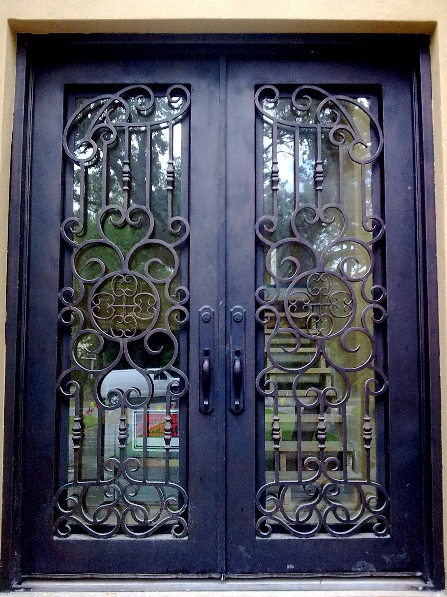One Of Our Favorite Custom Wrought Iron Entry Doors Dream Home - Wrought iron front door