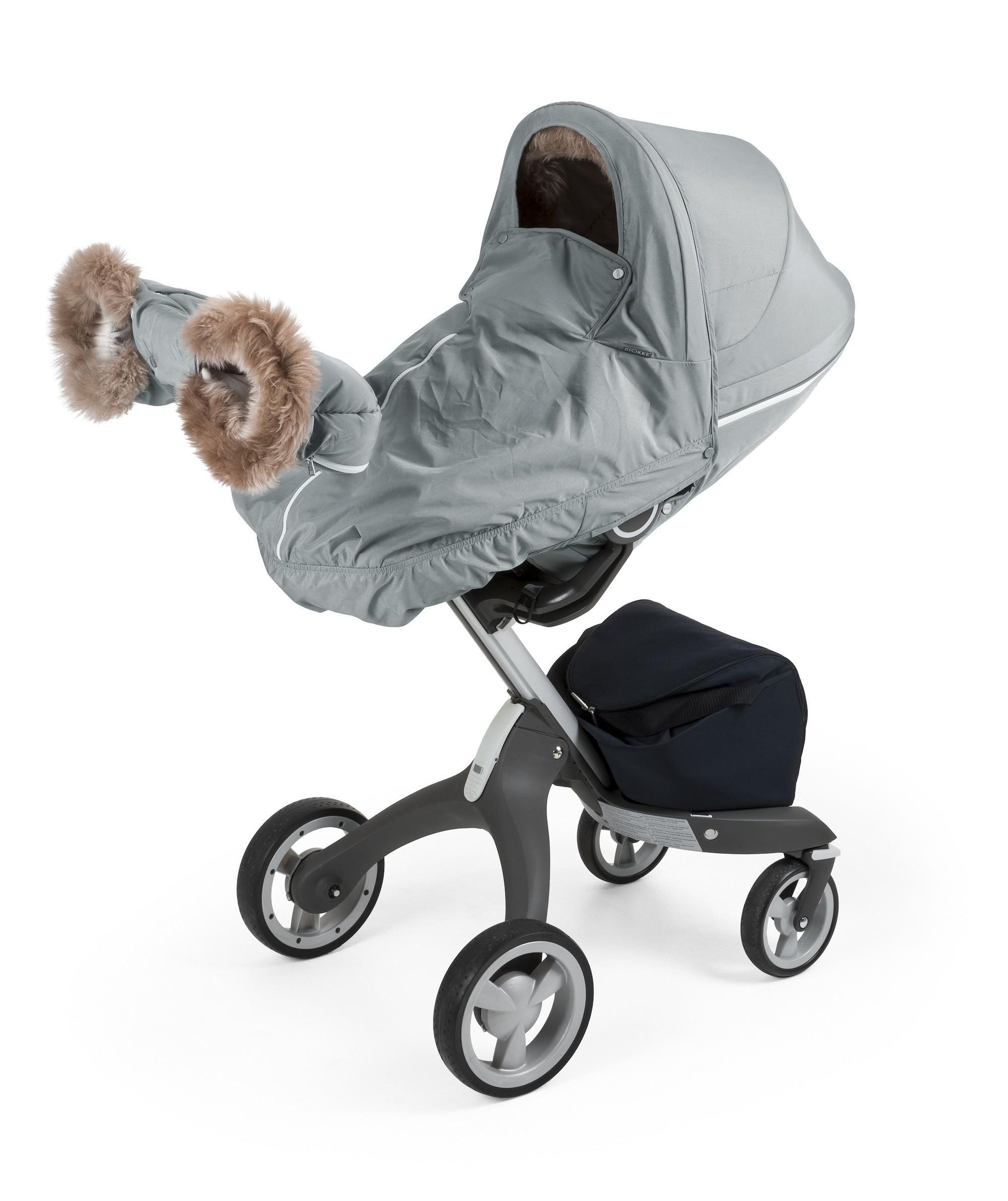 26224c375 Stroller Winter Kit Pearl White