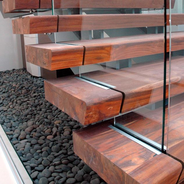 Best Amcol International Reclaimed Teak Stair Treads Wood 640 x 480