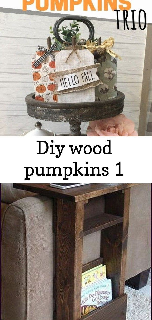 Make these DIY Wood Pumpkins for Fall Home Decor Easy