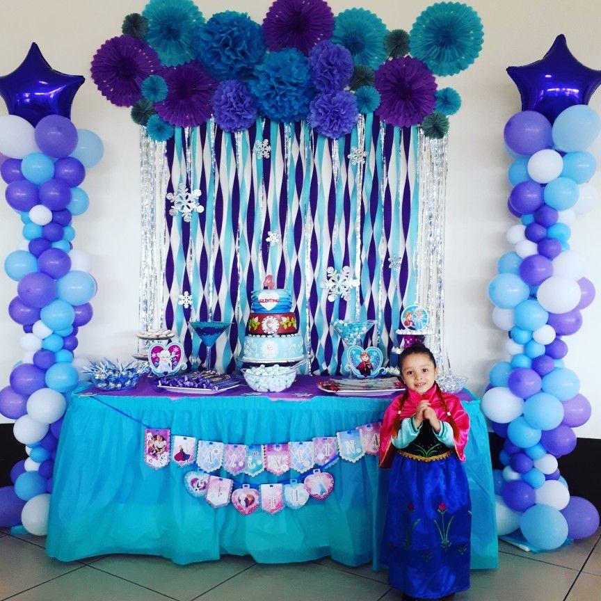Niver da Alice Elsa birthday party, Disney frozen