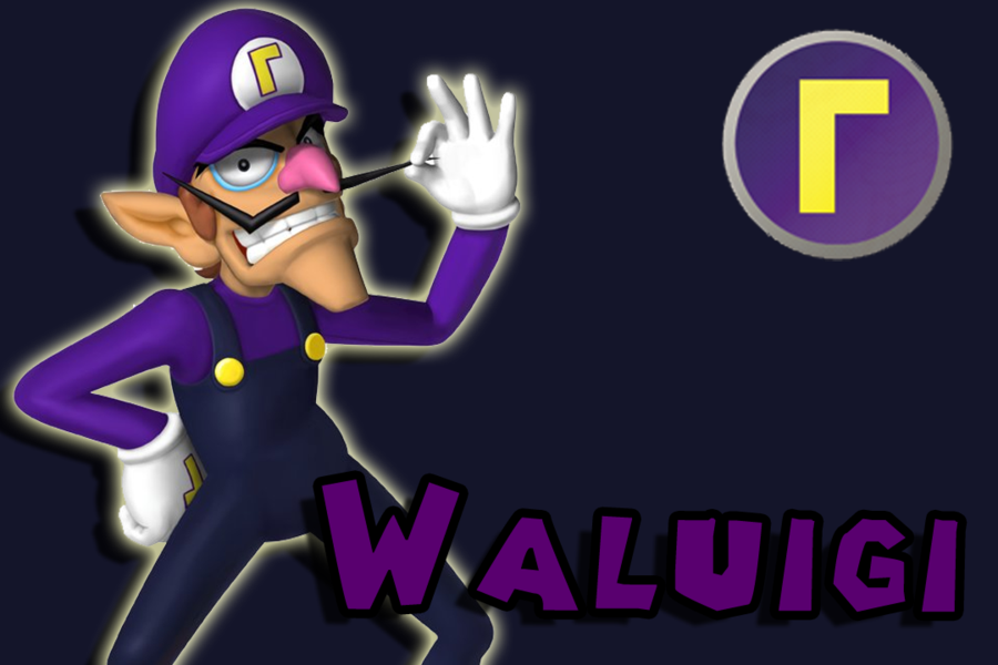 W Is For Waluigi W Is Also For Wonderful Coincidence I Think Not Super Mario Bros Wallpaper Emotions