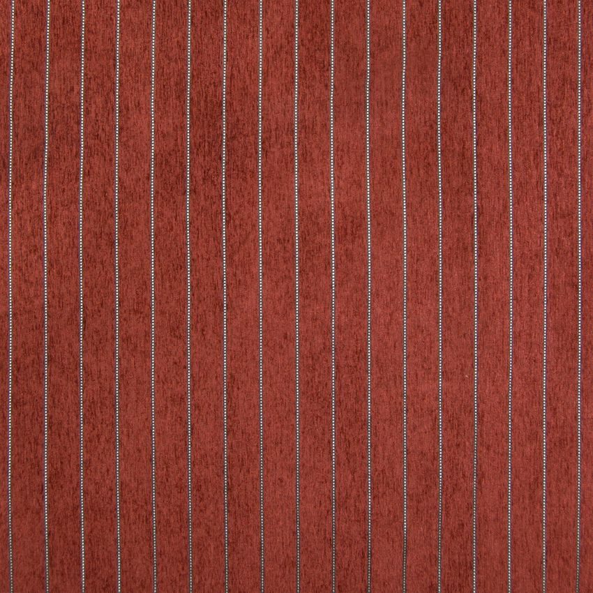 Spice Red Stripe Chenille Upholstery Fabric Upholstery Fabric For Chairs Upholstery Fabric Dining Room Chairs