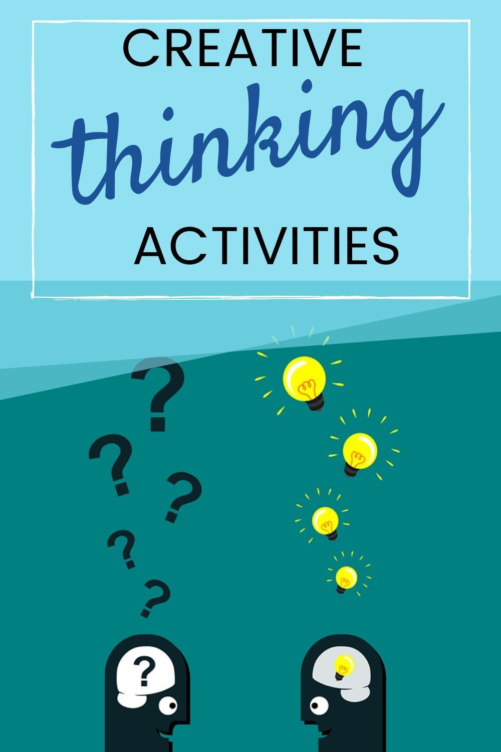 Creative Thinking Activities For Students In 2020 Creative Thinking Activities Student Activities Higher Order Thinking Skills
