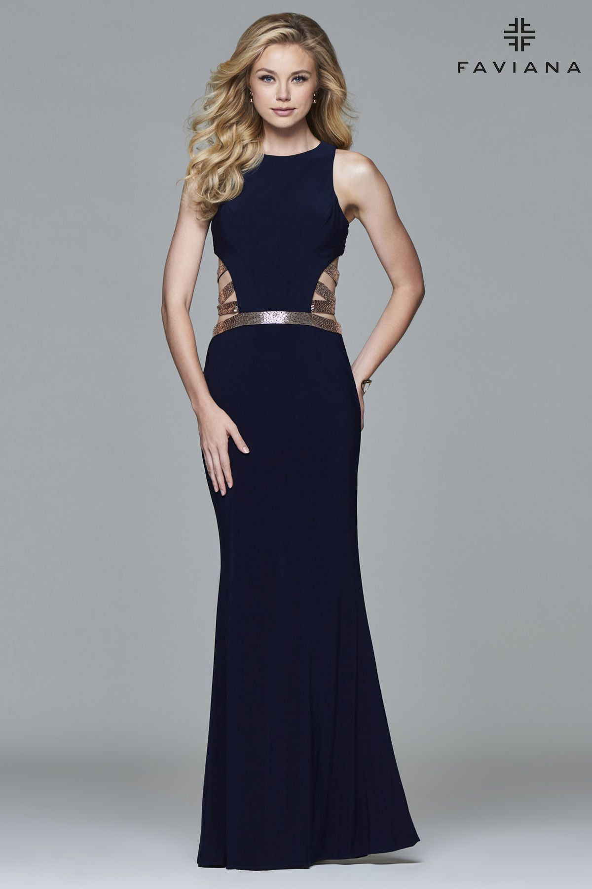 fcf73f4b36 It features a halter neckline and a fit and flare skirt. This dress is  perfect for a slender or hourglass body shape  the ...