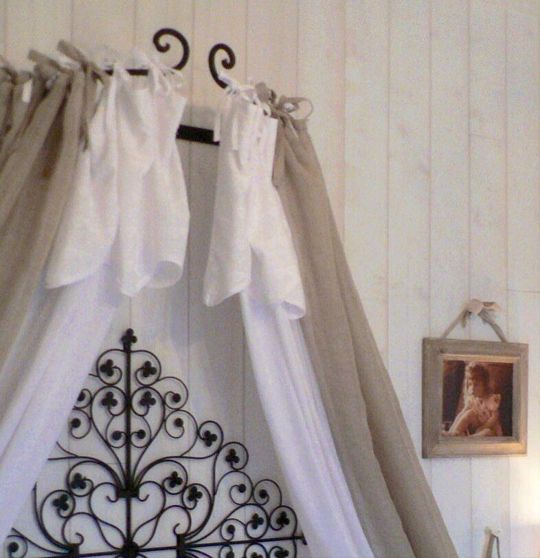 Ciel De Lit Fer Forgé Noir   Meubles appart   Pinterest