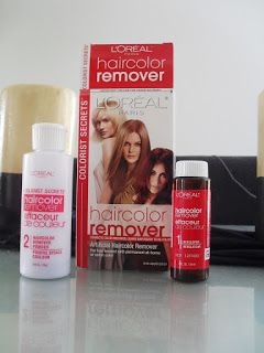 Removedor de color de cabello loreal