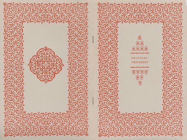 Cover for eight-page booklet, 6.125 x 9.25 inches, designed by John McCrillis…