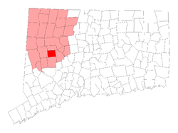 Bethlehem, CT Location in Litchfield County, Connecticut