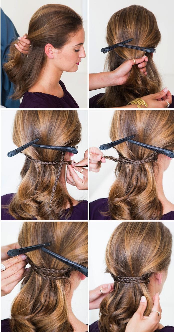 1001 Ideen Und Anleitungen Fur Moderne Frisuren Mit Locken Frisur Hochgesteckt Hochsteckfrisuren Kurze Haare Hochsteckfrisur