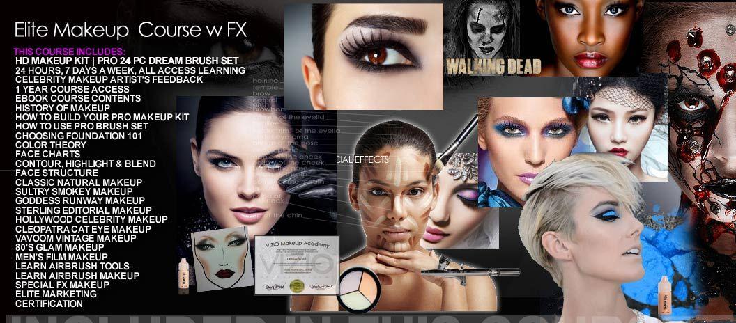 Tuition Makeup academy, Makeup course, Online makeup