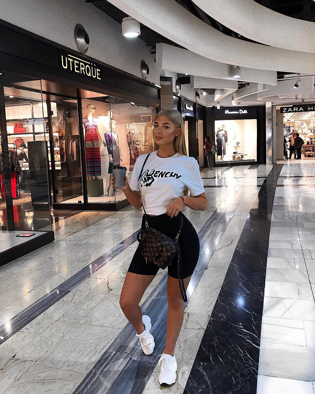 """2b6f8c5def Jess Hunt on Instagram  """"Shopping morning 🛍 wearing my trainers from   egoofficial  JESSH20  for 20% off"""""""
