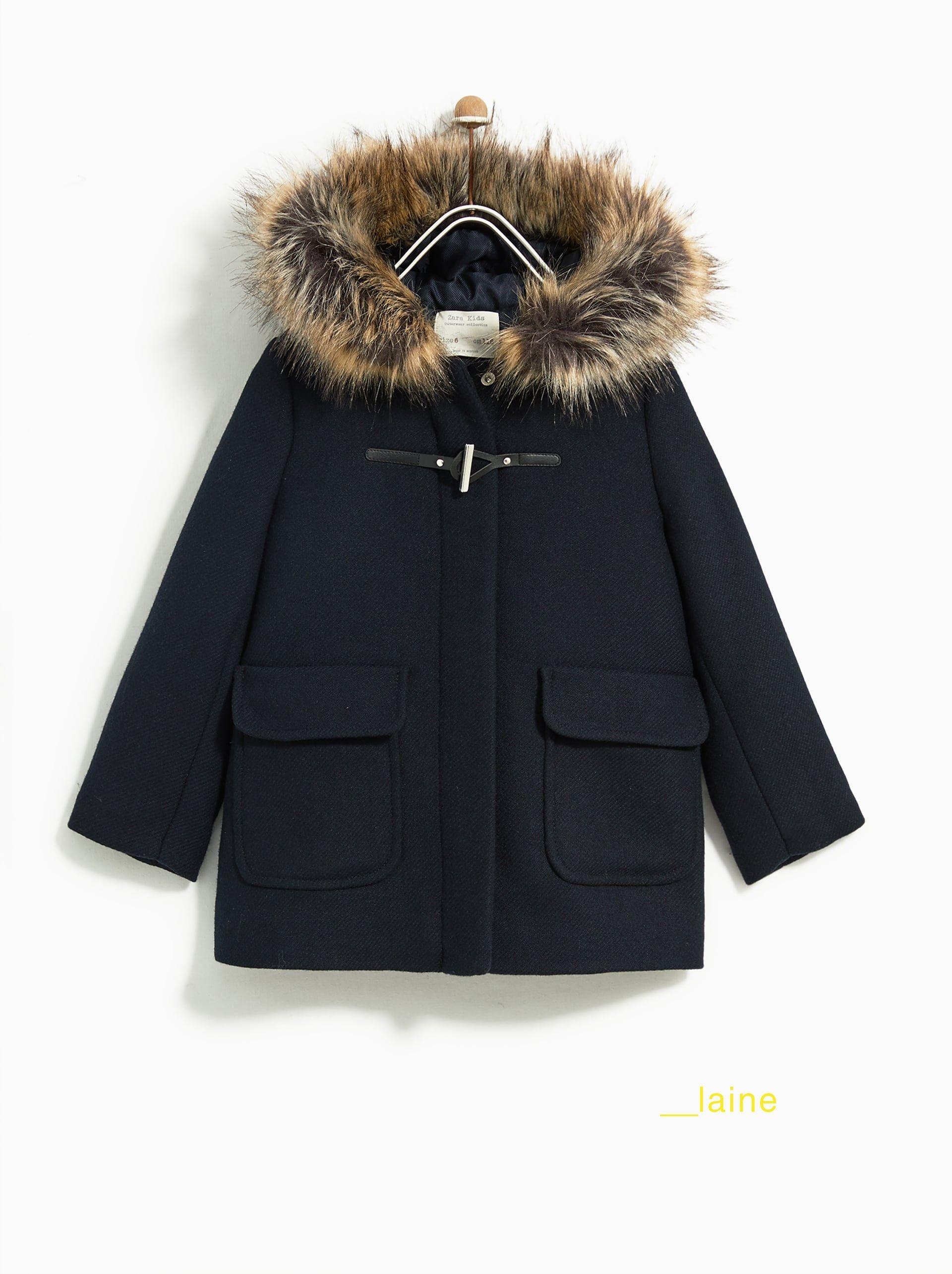 Immagine 8 Di Montgomery Con Cappuccio Di Zara Dufflecoat Madchen Kleidung Modestil