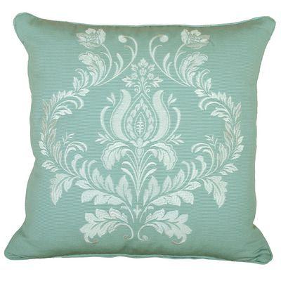 Delphine Cushion In Green Terrys Fabrics Uk Teal Cushions Cushions Scatter Cushions