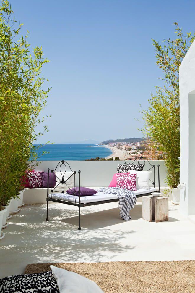 Villa mandarina by ana bejar interiorismo home balcony terrace porch pinterest villa home - Mandarina home espana ...