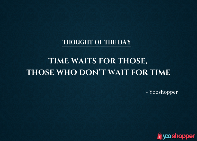 #thoughtoftheday Thought! Importance of Time!