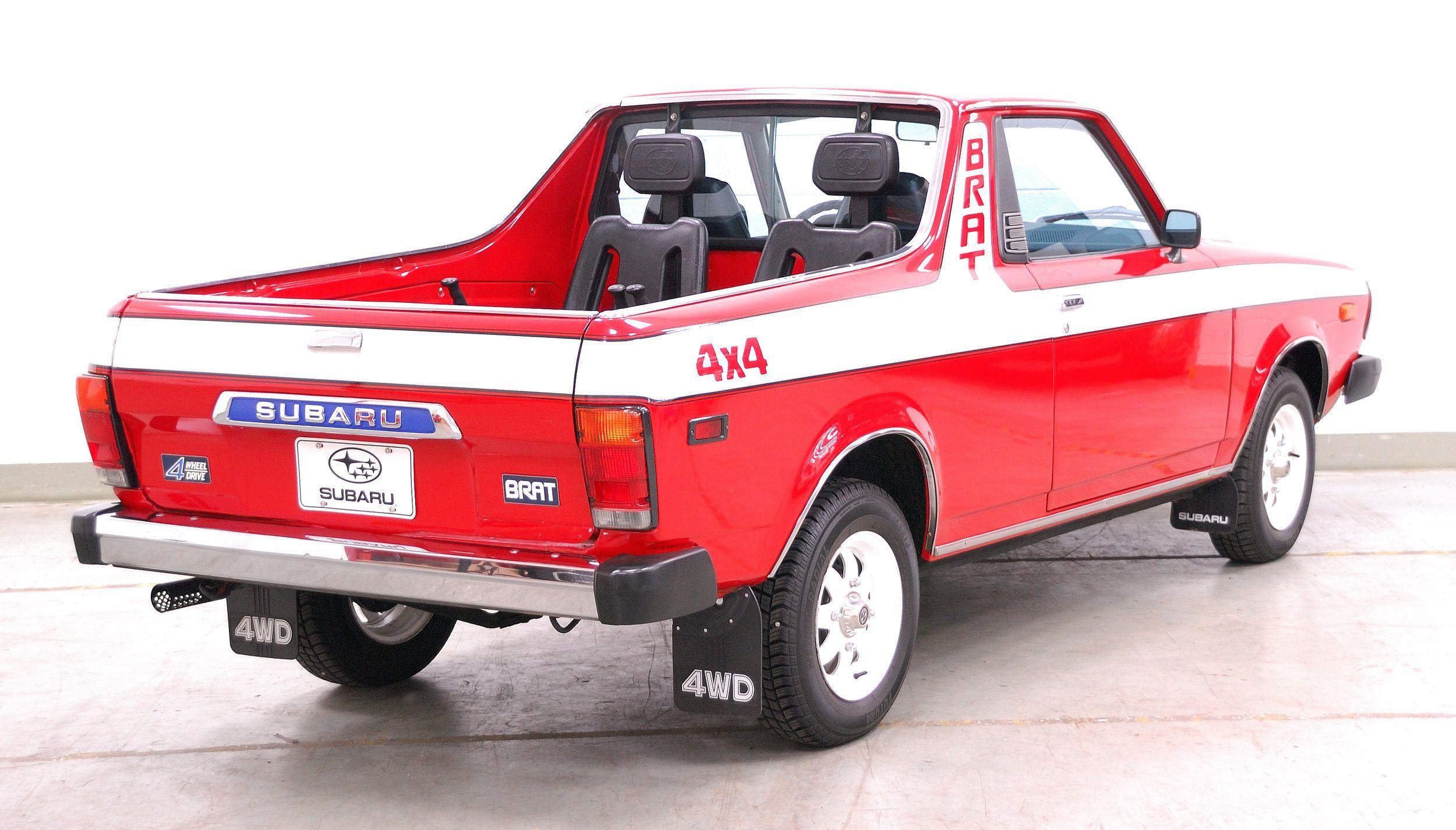 1977 81 Subaru BRAT Cars Pinterest