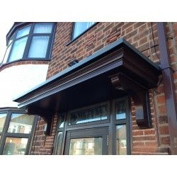 Grp Double Canopy Flat Roof Off Center Cb Front Door