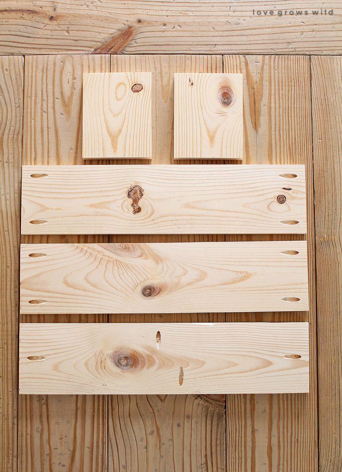DIY Wood Box Centerpiece | DIY Home Decor | Diy wood box ...