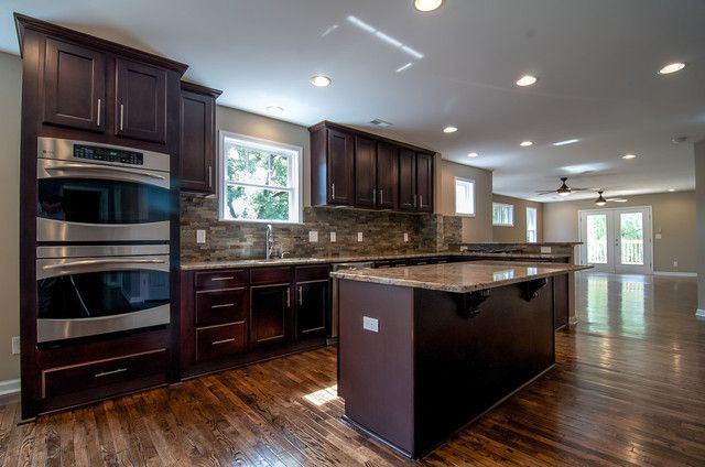 Espresso Kitchen Cabinets With Countertop That Are Indeed Exquisite Downyez