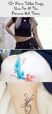 Photo of 65+ Pisces tattoo design ideas for all the Pisceans out there » EcstasyCoffee #…