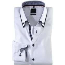 Photo of Olymp Luxor Hemd, modern fit, Button-down, Weiß, 43 Olympolymp
