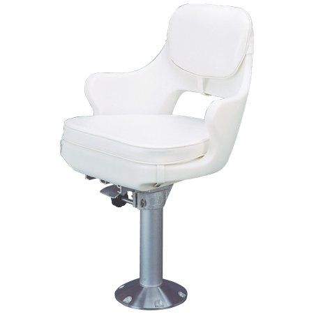 Astonishing Todd 7550 Chesapeake Model 500 White Boat Seat Chair Package Inzonedesignstudio Interior Chair Design Inzonedesignstudiocom