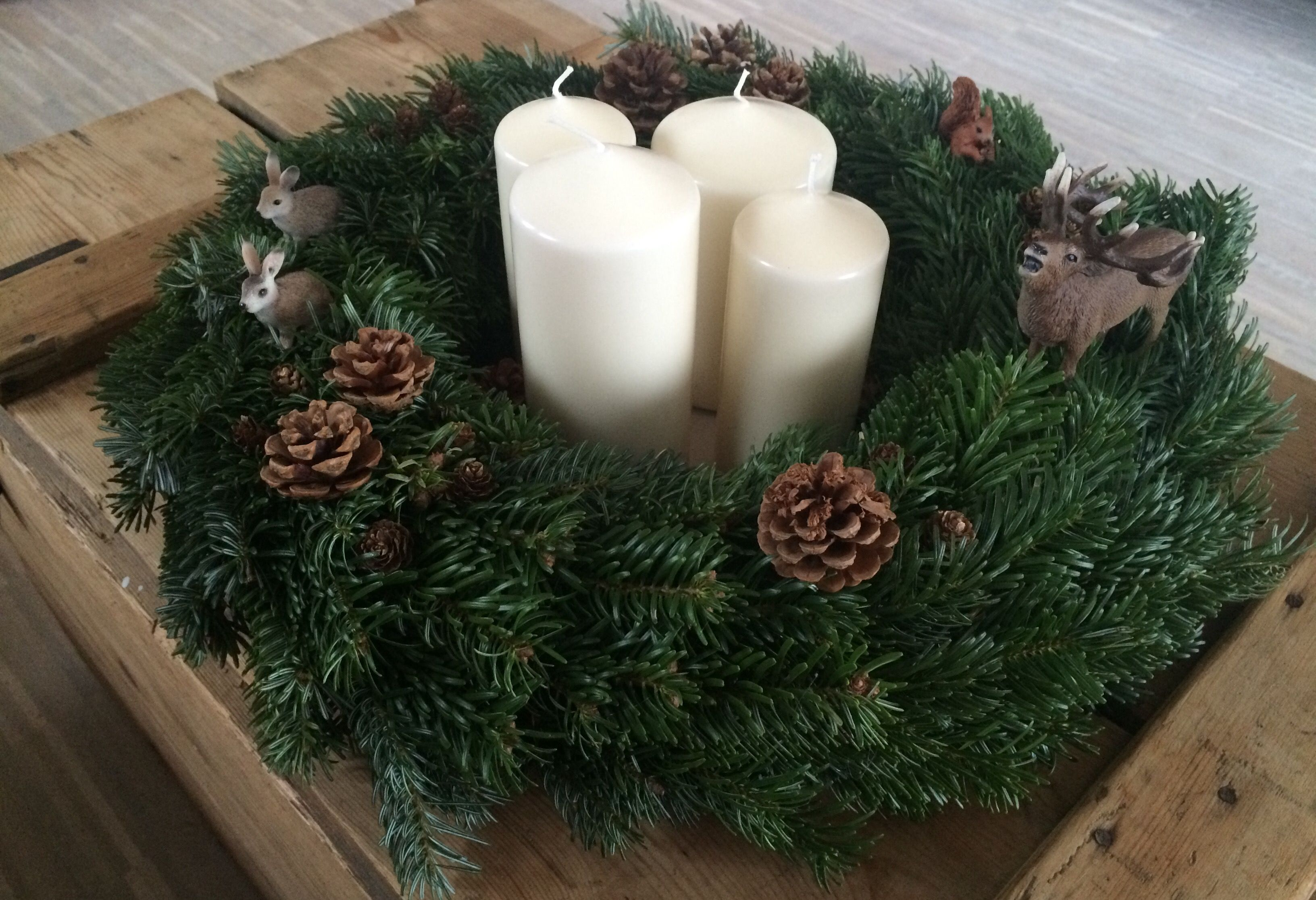 Adventskranz // DIY // Christmas