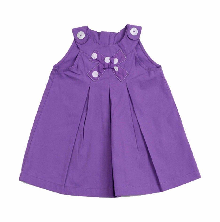 Vestido para Bebe Niña confeccionado en algodón 100%, en color ...