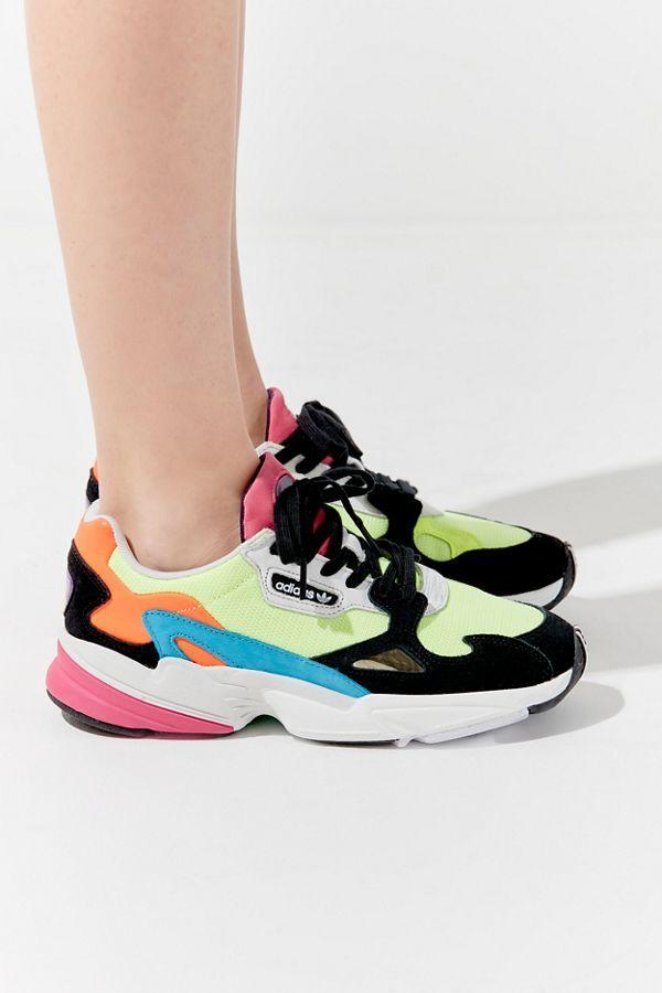 adidas Originals Falcon Neon Sneaker