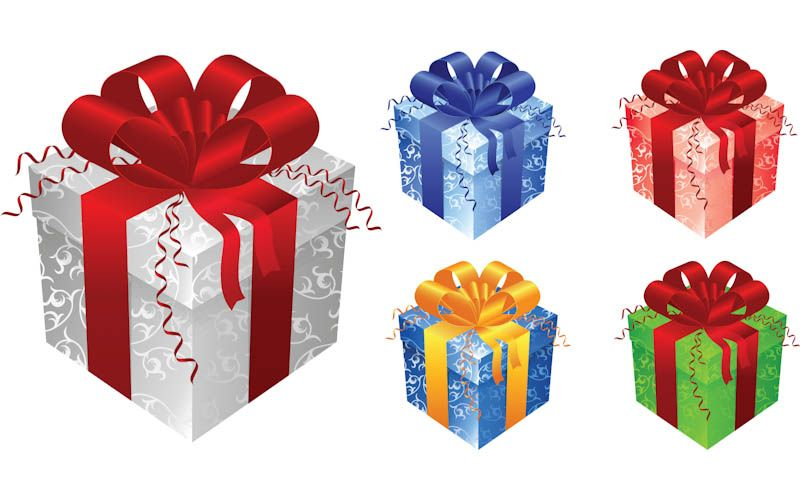 Gift Box Christmas Decorations Gift Boxes Templates Vector  Clip Art  Pinterest  Gift Box