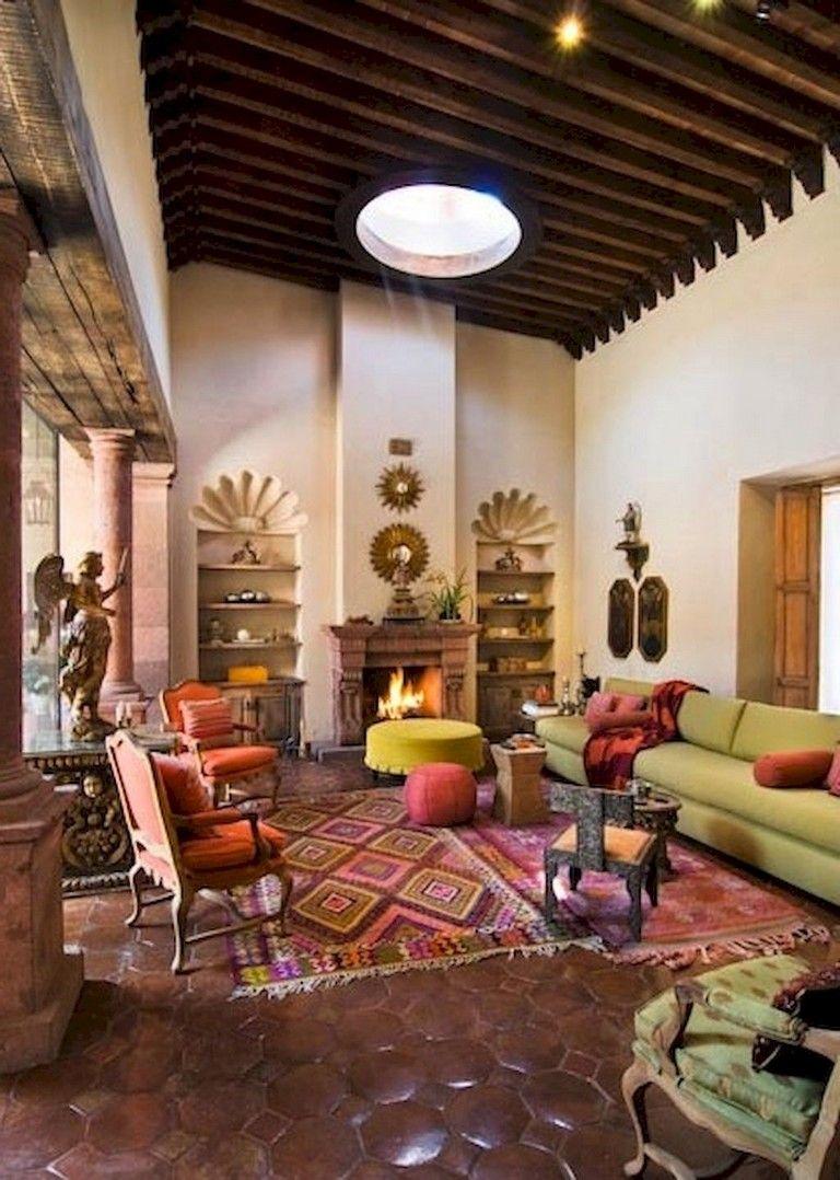 95 Incridible Boho Chic Living Room Decor Ideas On A Budget Chic Living Room Decor Boho Chic Living Room Decor Spanish Decor #spanish #style #living #room #decor
