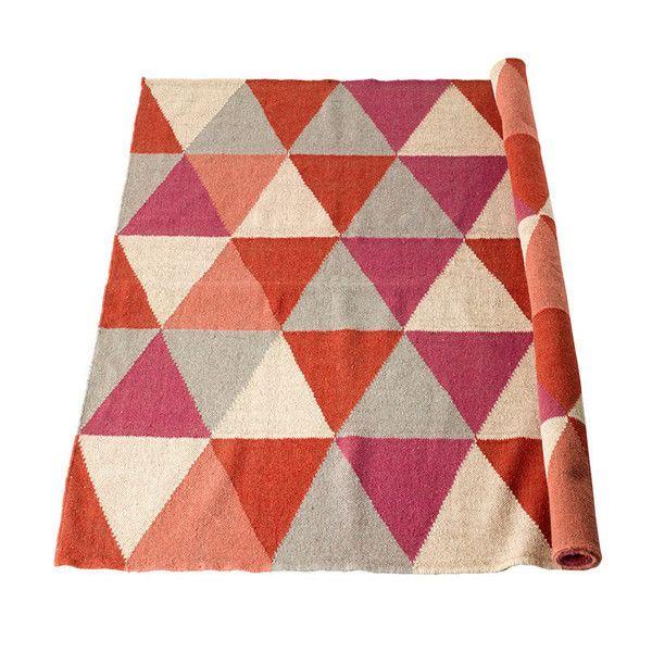 lounge option | Geometric rug, Pink and gray nursery, Rugs