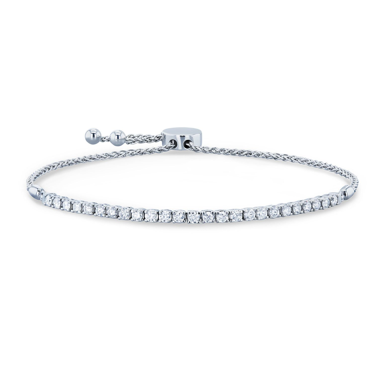 Diamond Bolo Strand Tennis Bracelet Diamond Bracelets Sparkly Jewelry