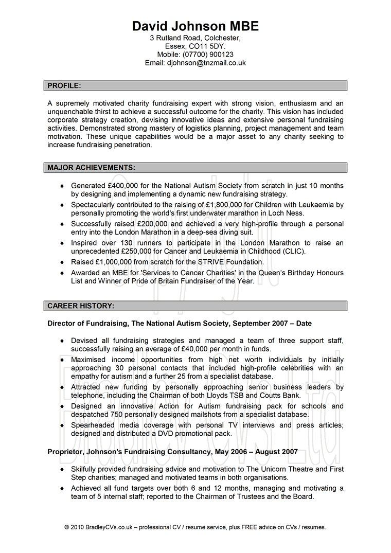 Cv Template For 6th Formers Resume Writing Services Resume