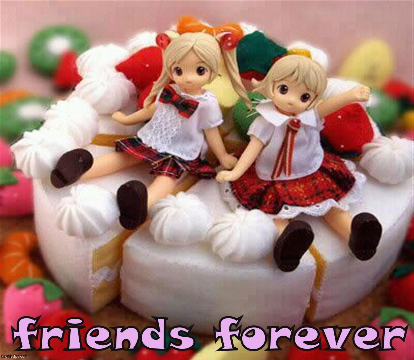 Cute Friends Forever Display Photos For Profile Basavaraj Happy