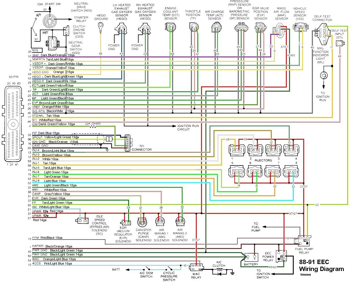 hight resolution of mustang faq with 2000 radio wiring diagram and 1995 ford wiring within 2000 ford mustang wiring diagram