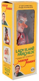 Mister Rogers Puppet Dolls My Sister Had This One Lady Elaine Fairchilde And King Friday And I Had X Mr Rogers Puppets Mr Rogers Mister Rogers Neighborhood
