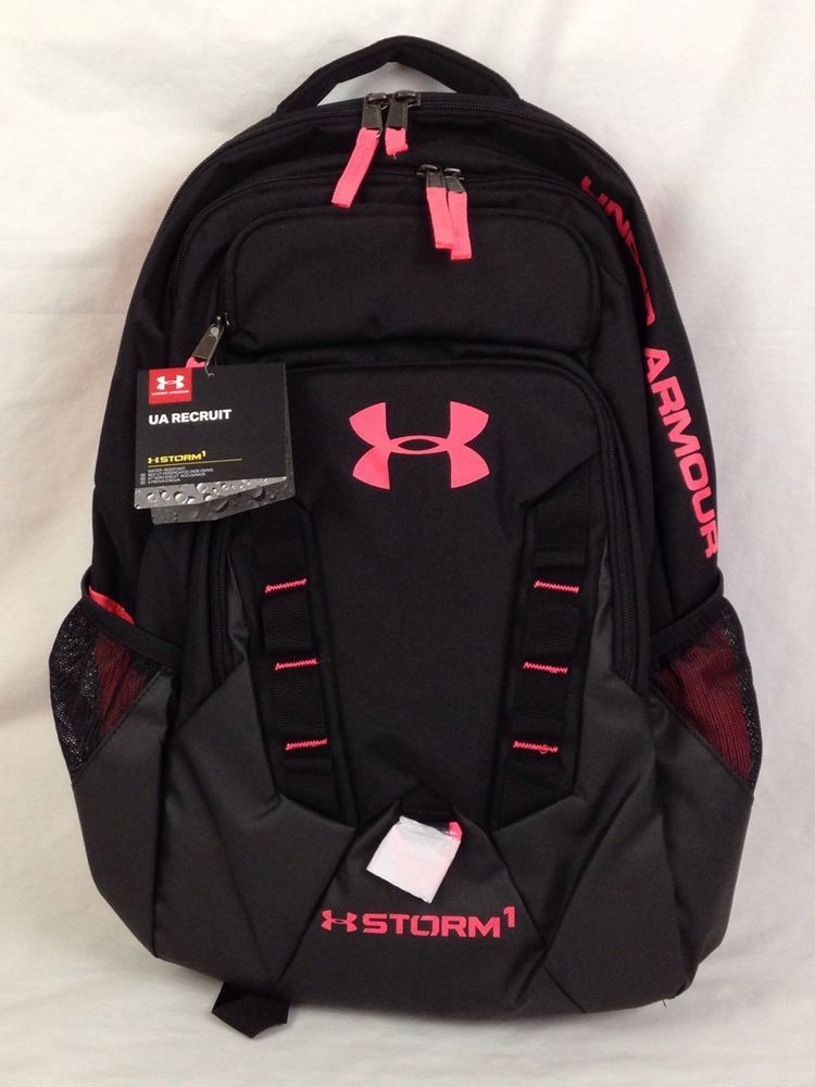 723b1174f464 Under Armour UA Recruit Storm 1 Backpack Outdoors Sports Bag 1261825-005  NWT  Backpack  UnderArmour  UA  Outdoors  Outdoorlife  Ebay  EbaySeller ...