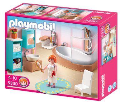 Amazon Com Playmobil Grand Bathroom Toys Games Playmobil
