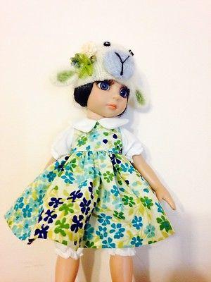 10-Tonner-Ann-Estelle-Patsy-Kish-YoSd-Blue-Chop-Lamp-Chop-Hat-Dress-Bloomer-Set. Ends 9/21/14. Sold for $46.00, one bid.