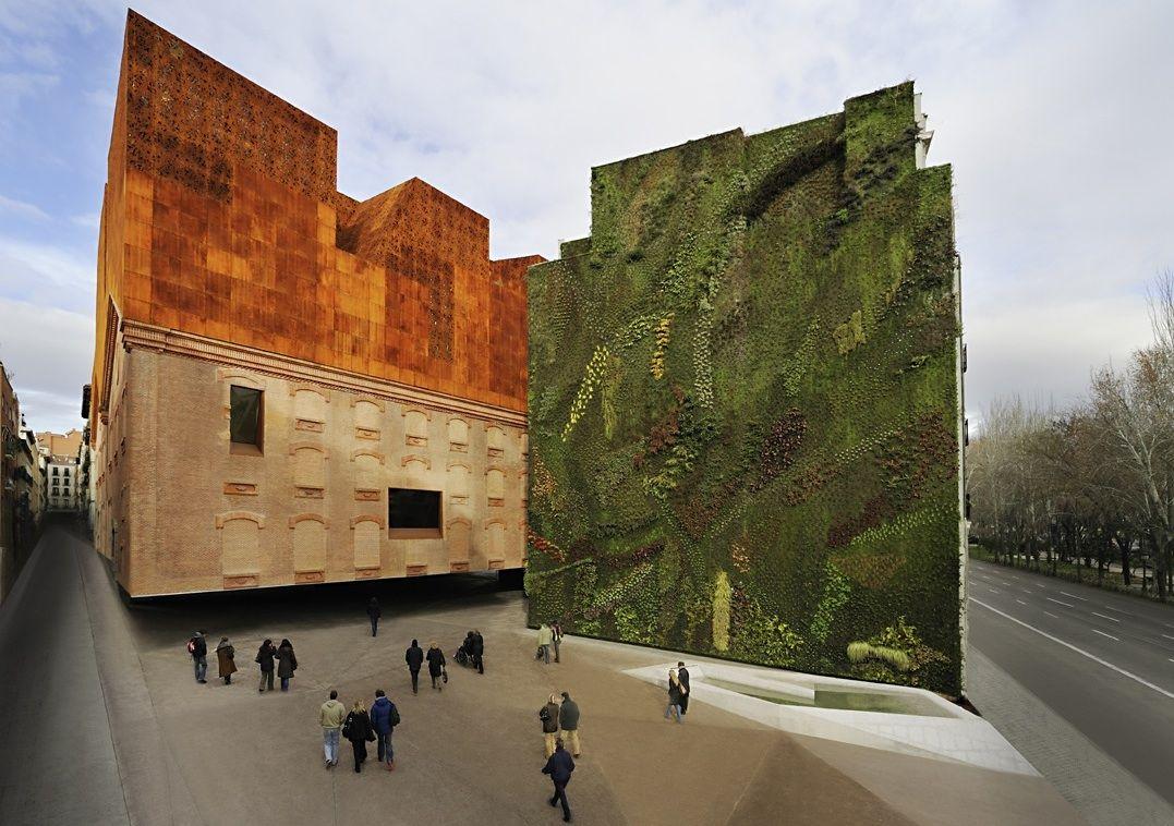 Herzog and demeuron google search design for Jardin vertical caixaforum