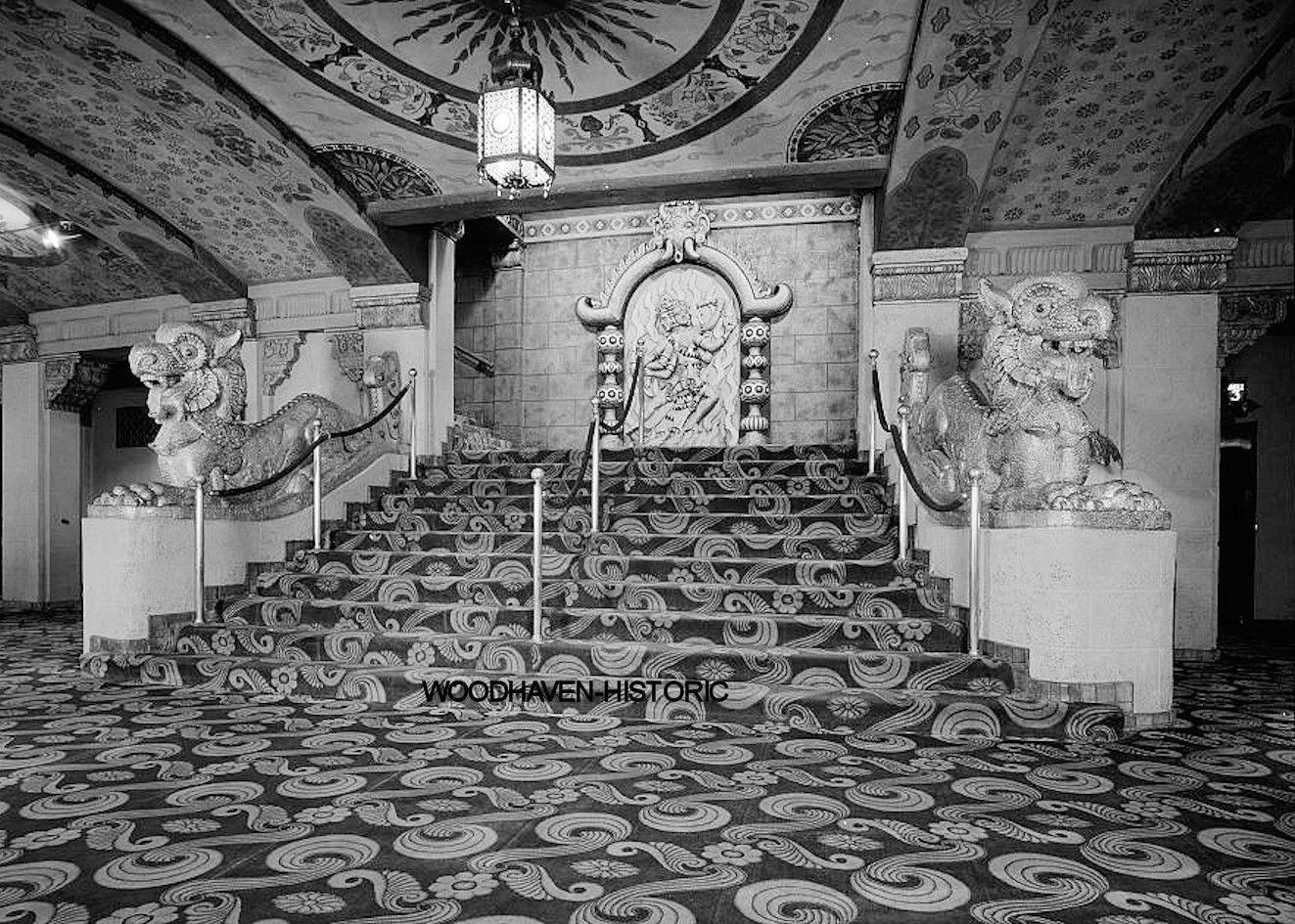 Delightful Oriental Theatre Theater Portland OR 1969 Photo